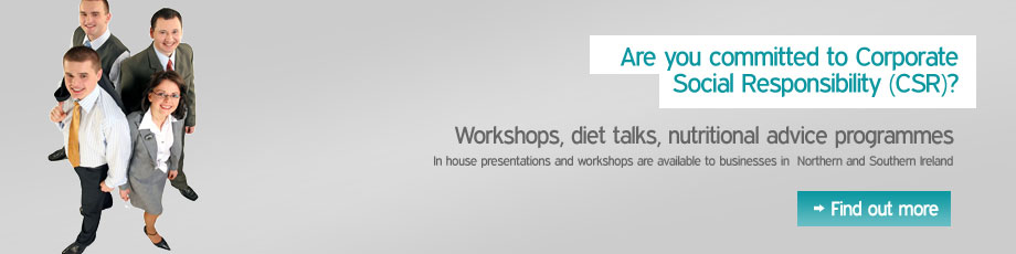 Corporate programmes with 121 Dietitian
