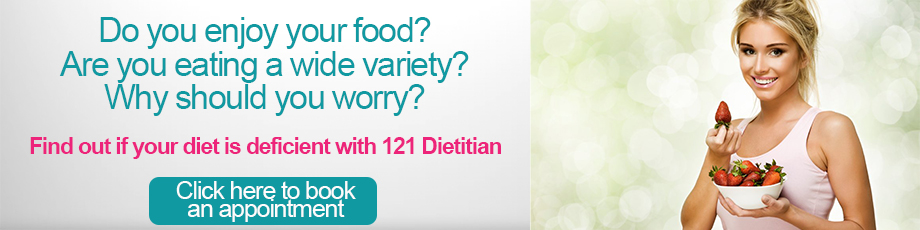 Book an appointment at 121 Dietitian