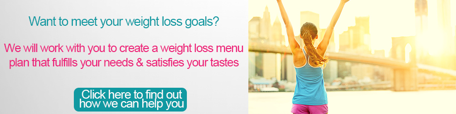 We'll help you create a weight loss menu