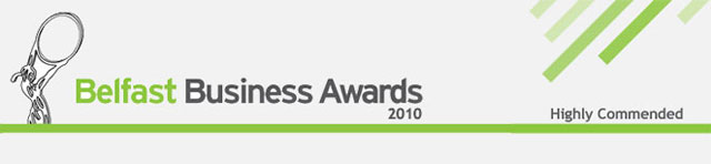 Belfast Business Awards - highly commended